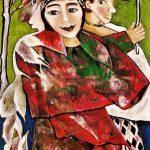 Martina Rossa Kunst,Asta Nielsen,Ringelnatz,Hiddensee,Karusell,Puppen,Theater,Dresden