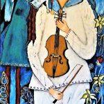 Martina Rossa Kunst,Puppen,Bühne,Theater,Violine,Konzerte